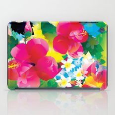 Hawaiian jungle iPad Case