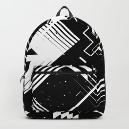 """Chaotic letter """"X"""" Backpack"""