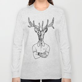 bambi's a grown up now  Black Long Sleeve T-shirt