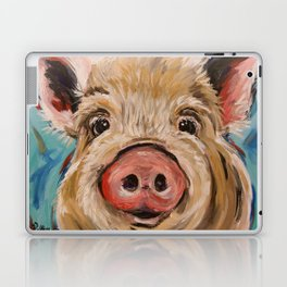 Pig Painting, Colorful Pig Laptop & iPad Skin