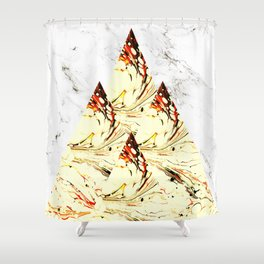 Glory Mountains Shower Curtain