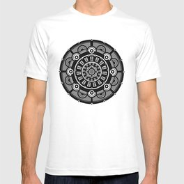 Modern Mandala (Black & White) T-shirt