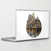 buildings Laptop & iPad Skins featuring Buildings by Protogami