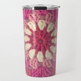 Crochet Valentine Travel Mug