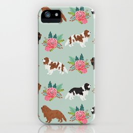 Cavalier King Charles Spaniel must have gift accessories for dog breed owner king charles dog iPhone Case