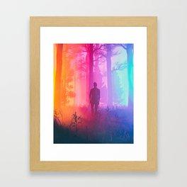 REBALANCE SELF (everyday 06.06.18) Framed Art Print