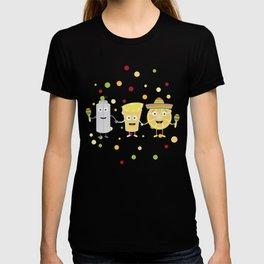 Tequila Fiesta Party Guys T-Shirt Ds074 T-shirt