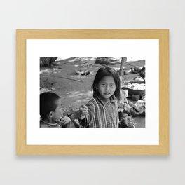 Children of Bali #3 Framed Art Print