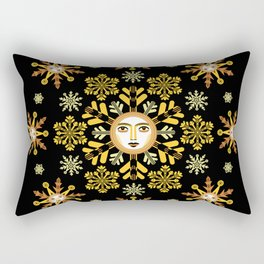 Snow Flake by ©2018 Balbusso Twins Rectangular Pillow