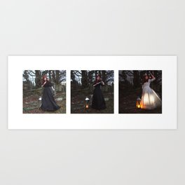 The Lighting of the Lanterns Art Print