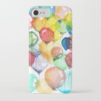 balloons iPhone & iPod Cases featuring balloons by Katja Main