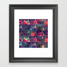 cats-130 Framed Art Print