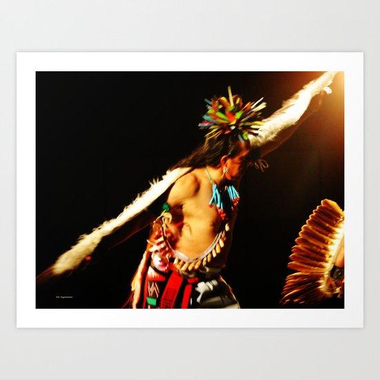 Eagle Dancer III Art Print