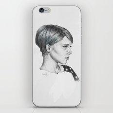 Léa Seydoux iPhone & iPod Skin