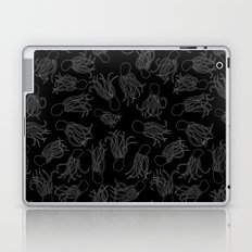 Squids (Grey on Black) Laptop & iPad Skin
