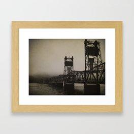 Old Border Crossing Framed Art Print