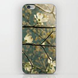 Spring tapestry iPhone Skin