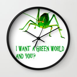 Leapfrog Wall Clock
