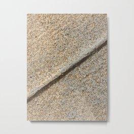 Concrete Style Metal Print