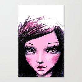 say hello Canvas Print