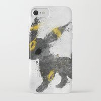 the moon iPhone & iPod Cases featuring Moon by Melissa Smith