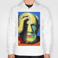 pablo picasso Hoodies featuring Pablo by Zmudart