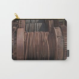 Steel Cables Carry-All Pouch