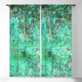 Moment of Epiphany: Emerald  Jewel Version Blackout Curtain