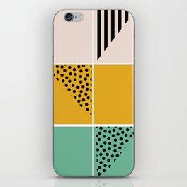 Blossom mosaic iPhone Skin