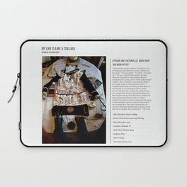 My Life Is Like A Collage / Art Stories Laptop Sleeve