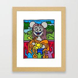 Lisa Mouse Framed Art Print