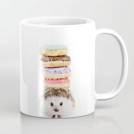 Hedgehog Donuts Coffee Mug