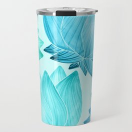 Lotus Love II / Zen Teal Palette Travel Mug