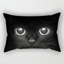 Black Cats are Good Luck Rectangular Pillow