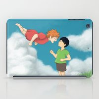 ponyo iPad Cases featuring Hinata - Ponyo by betanoiz