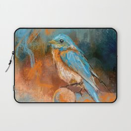A Splash Of Bluebird Laptop Sleeve