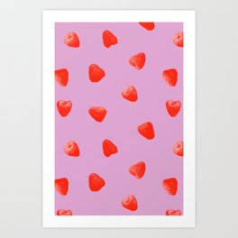 Raspberry Heaven Art Print