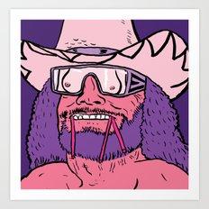 Macho, Macho Man Art Print