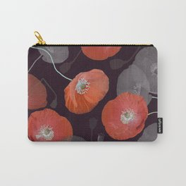Night in the Poppy Field Carry-All Pouch