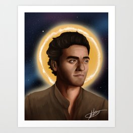 Space Poe Art Print