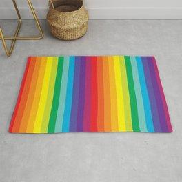 Rainbow Stripes Rug