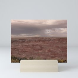 Desert Rain Clouds Mini Art Print
