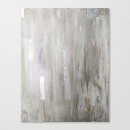 Lavender & Silver Canvas Print