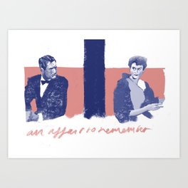 Affair to remember Art Print