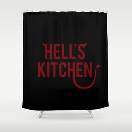 Devil of Hell's Kitchen Shower Curtain