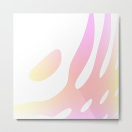 Pastel Design Metal Print