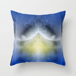 Electric Male Throw Pillow