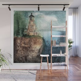 Recollection: Split Rock Lighthouse Wall Mural