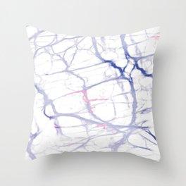 Gut Brain Throw Pillow