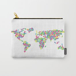 Tetris world (white one) Carry-All Pouch